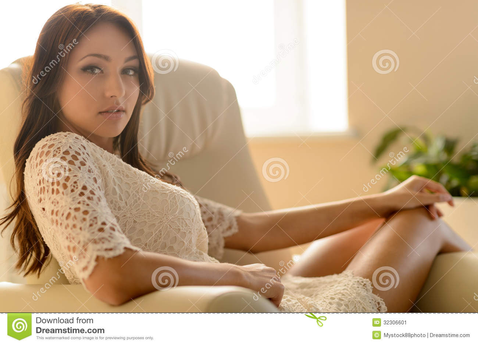 Foto de chica joven sexual