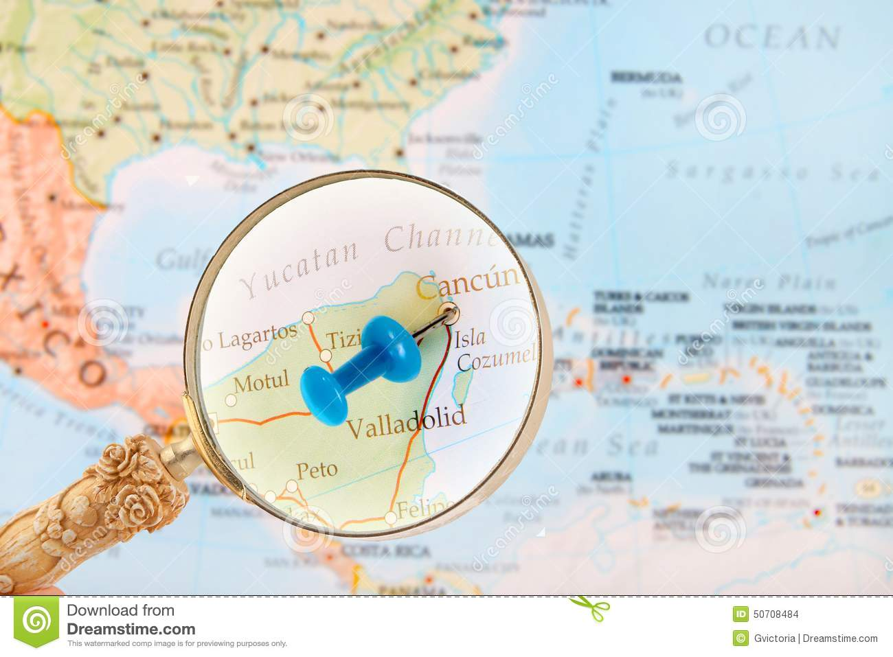 Looking In On Cancun, Mexico Stock Photo - Image of mexico, capital on