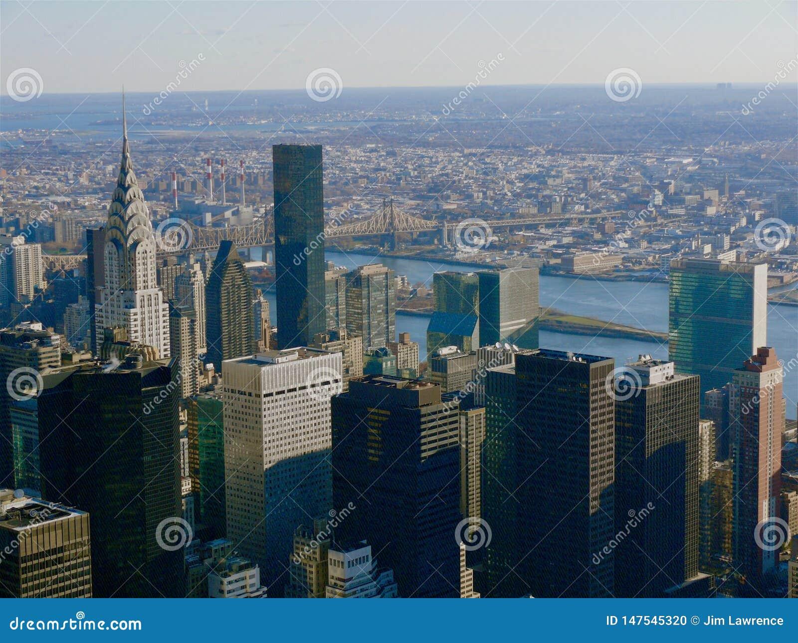 Aerial New York City