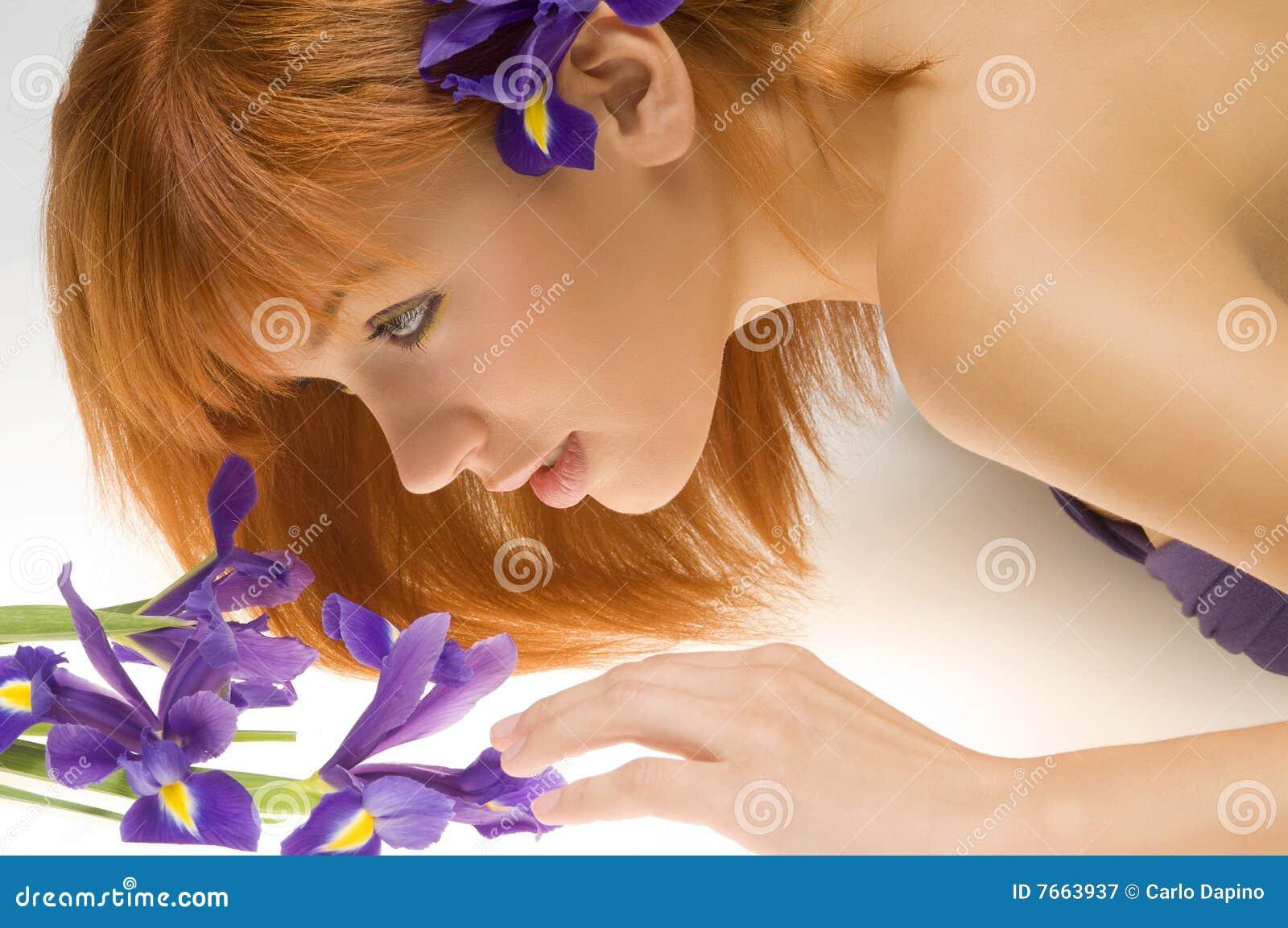 Looking flower