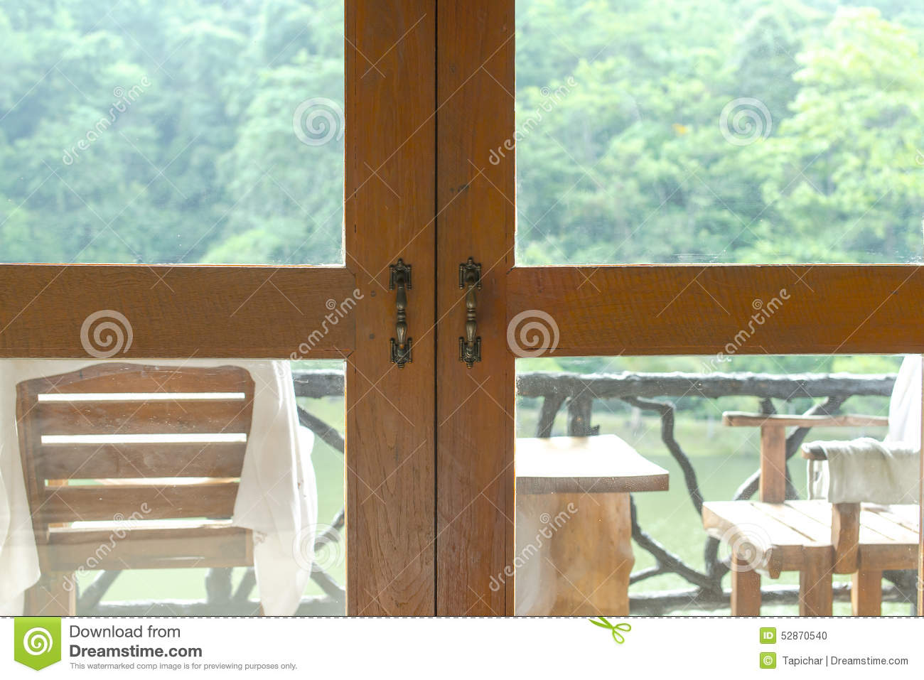 Looking terrace and nature stock photo image 52870540 for Terrace nature