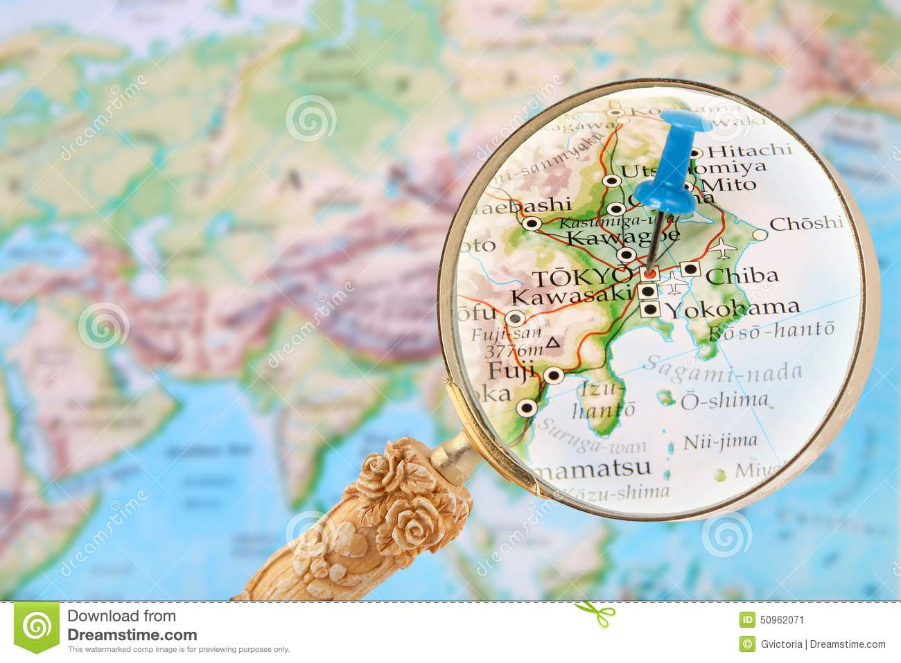 Looking in on Tokyo, Japan stock image. Image of area - 50962071