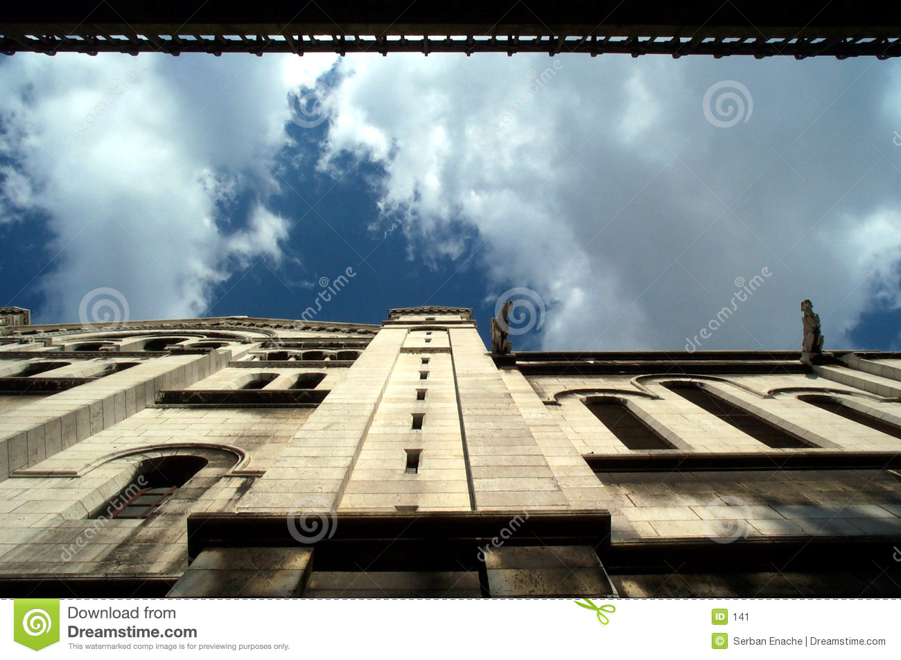 Looking up - gargoyle