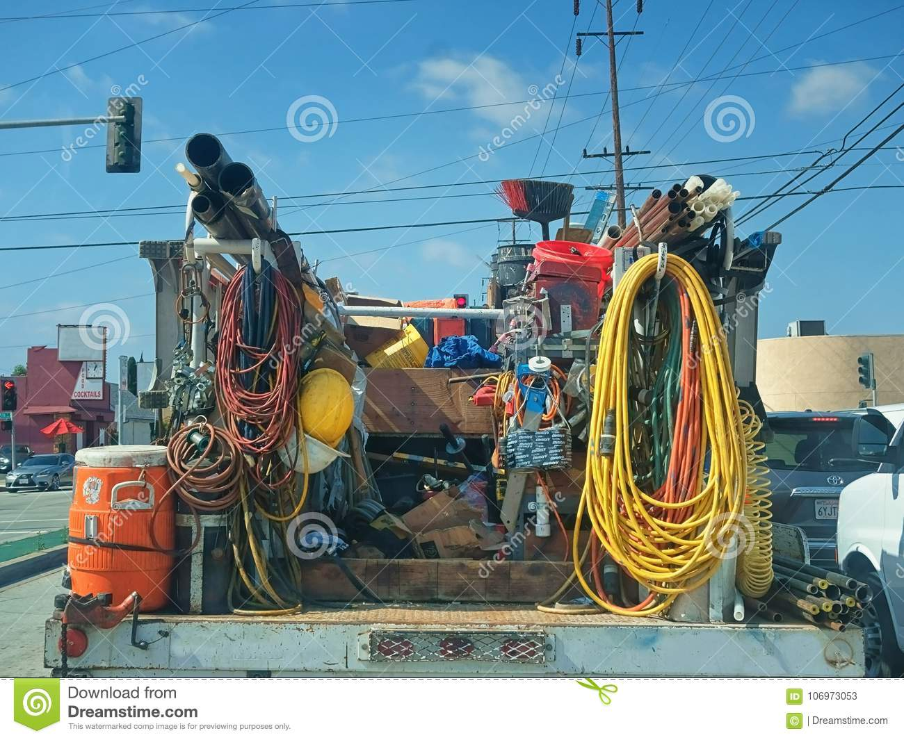 Utility Workers Royalty Free Stock Photography
