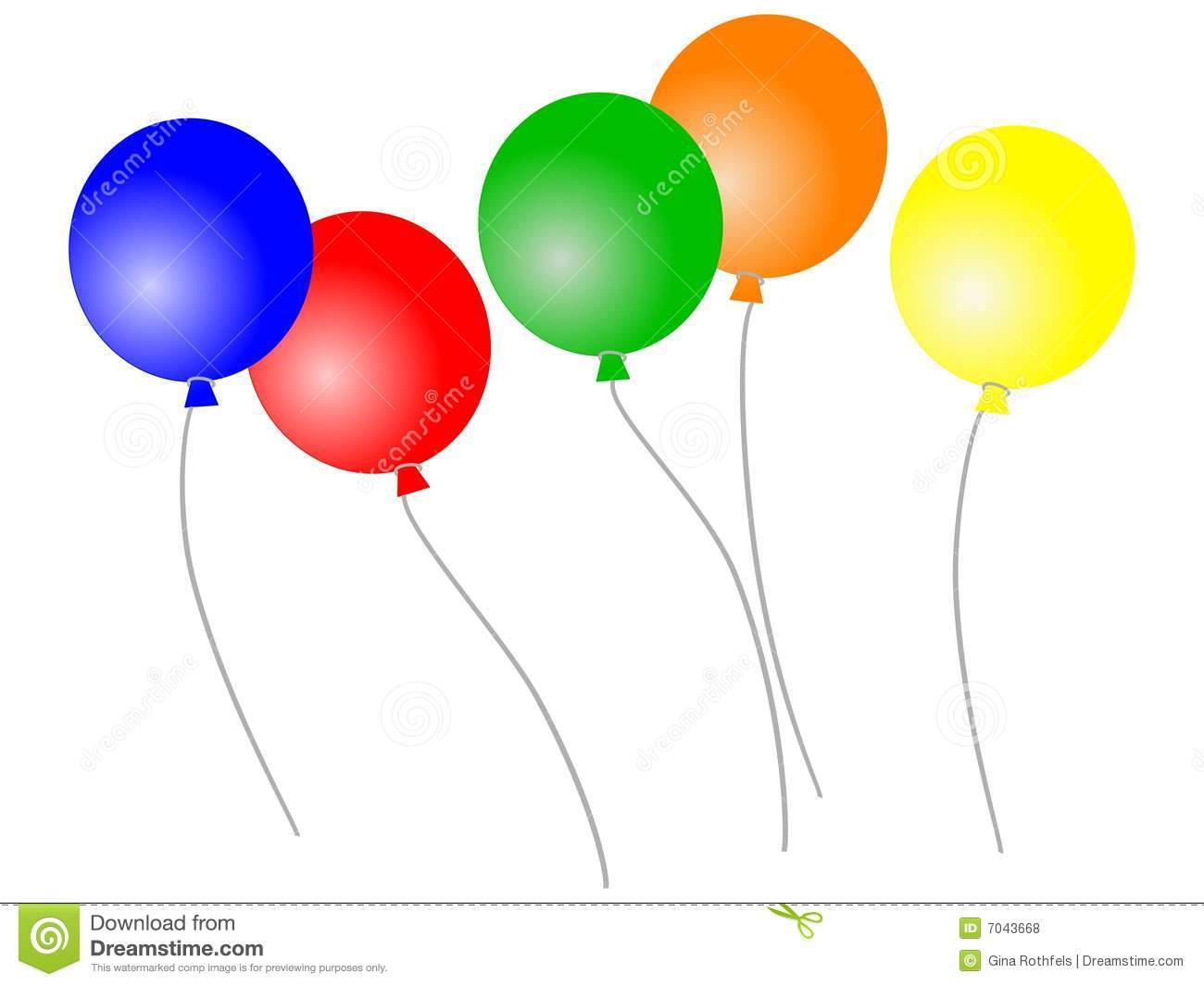 Loose balloons royalty free stock photos image 7043668
