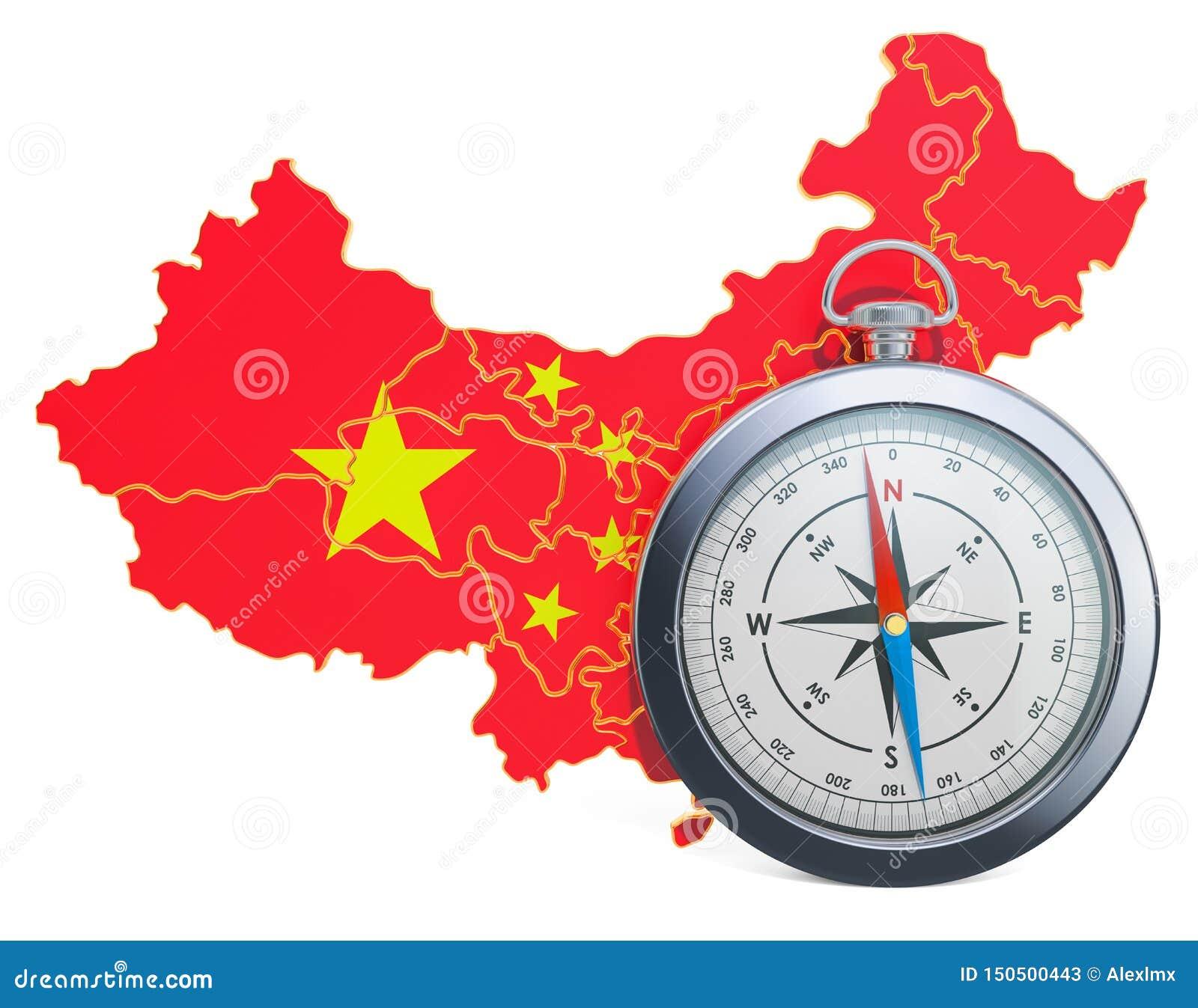 Lopp eller turism i det Kina begreppet framf?rande 3d