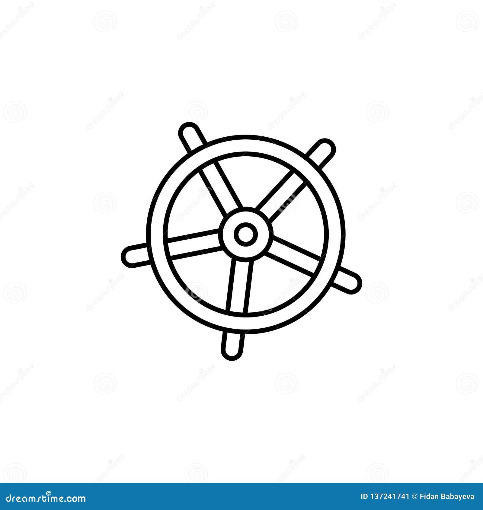 Lopp spårvagn, resväskaöversiktssymbol Beståndsdel av loppillustrationen Tecknet och symbolsymbolen kan användas för rengöringsdu