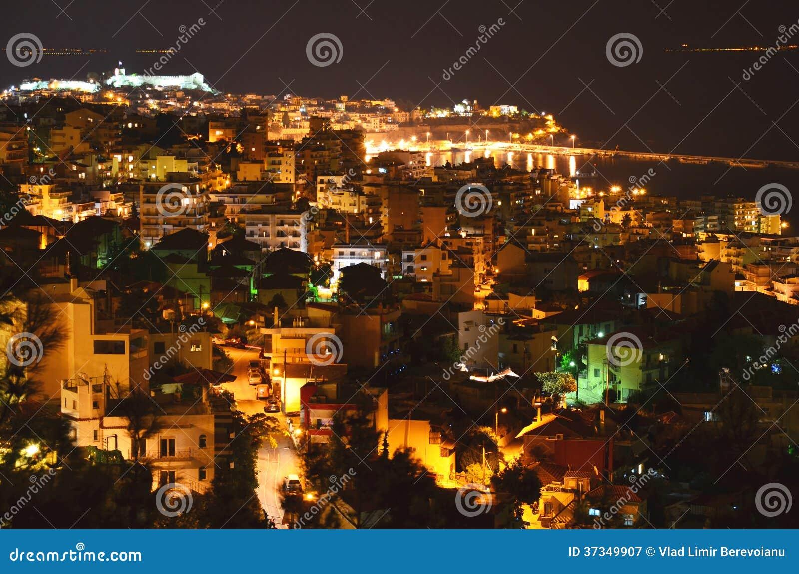 Lopp till Grekland: Nattstad vid havet