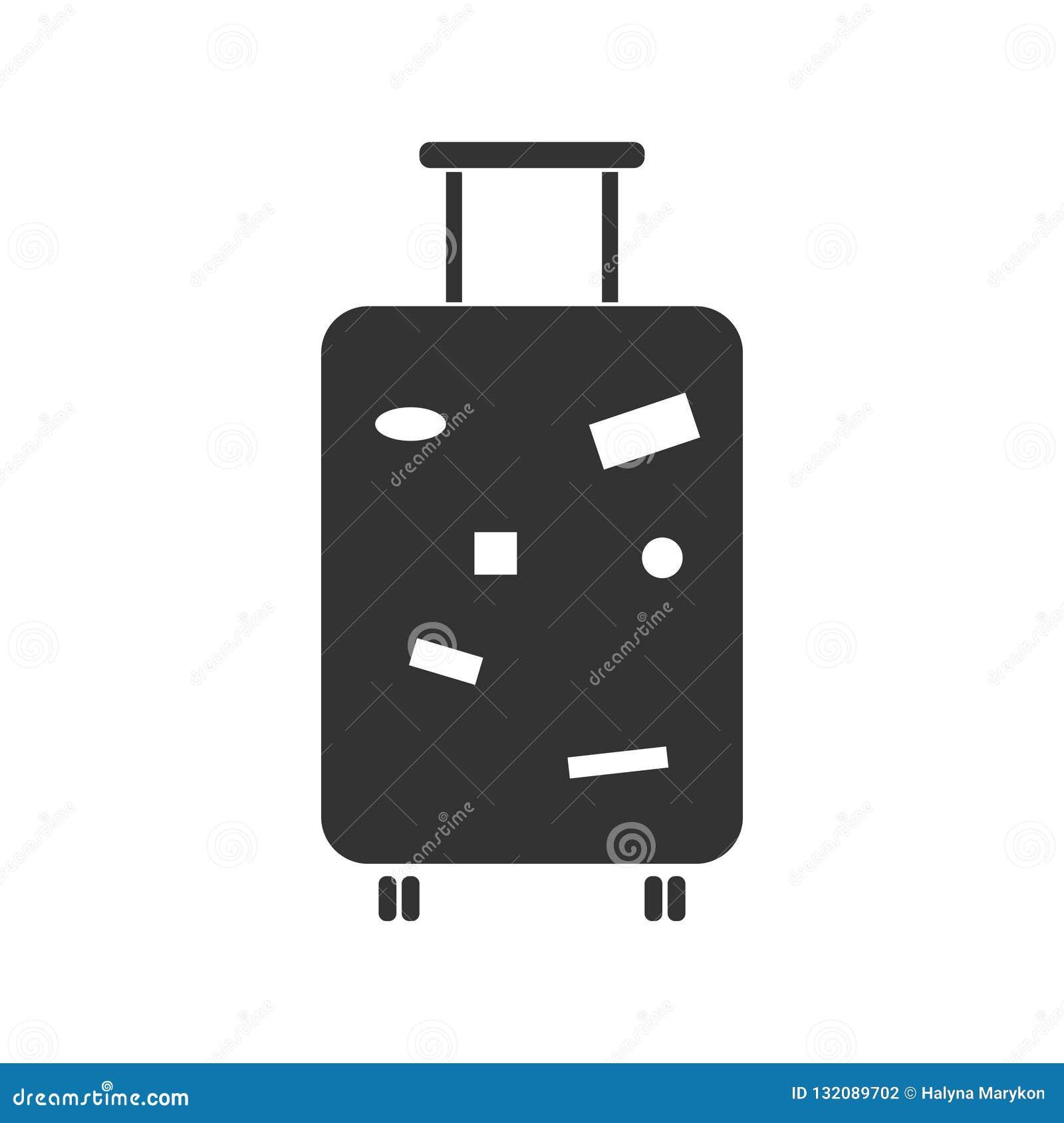 Loppbagagesymbol framlänges
