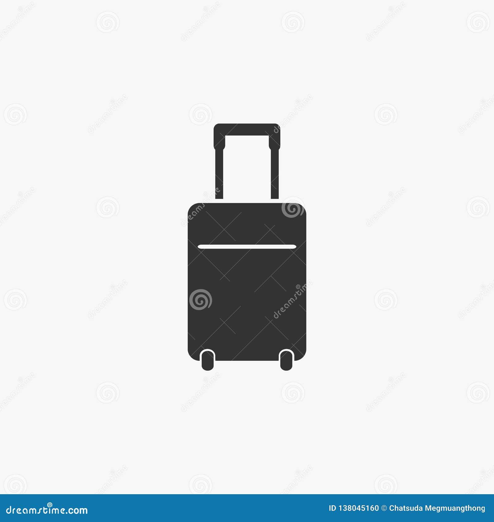 Lopppåsesymbol, lopp, påse, bagage