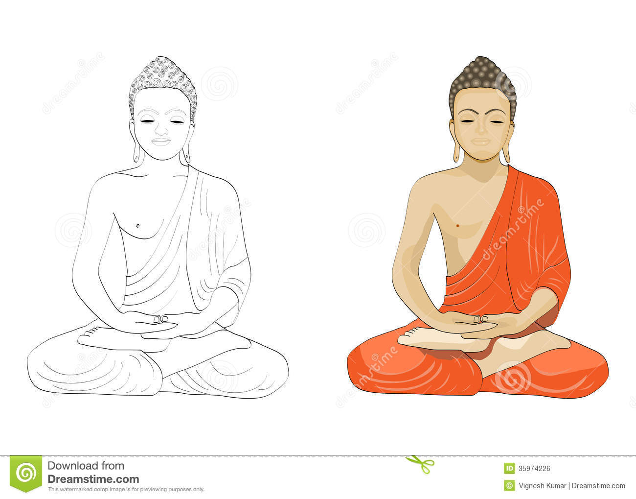 buddha illustration lord buddha stock illustrations 1 624 lord buddha stock 3219