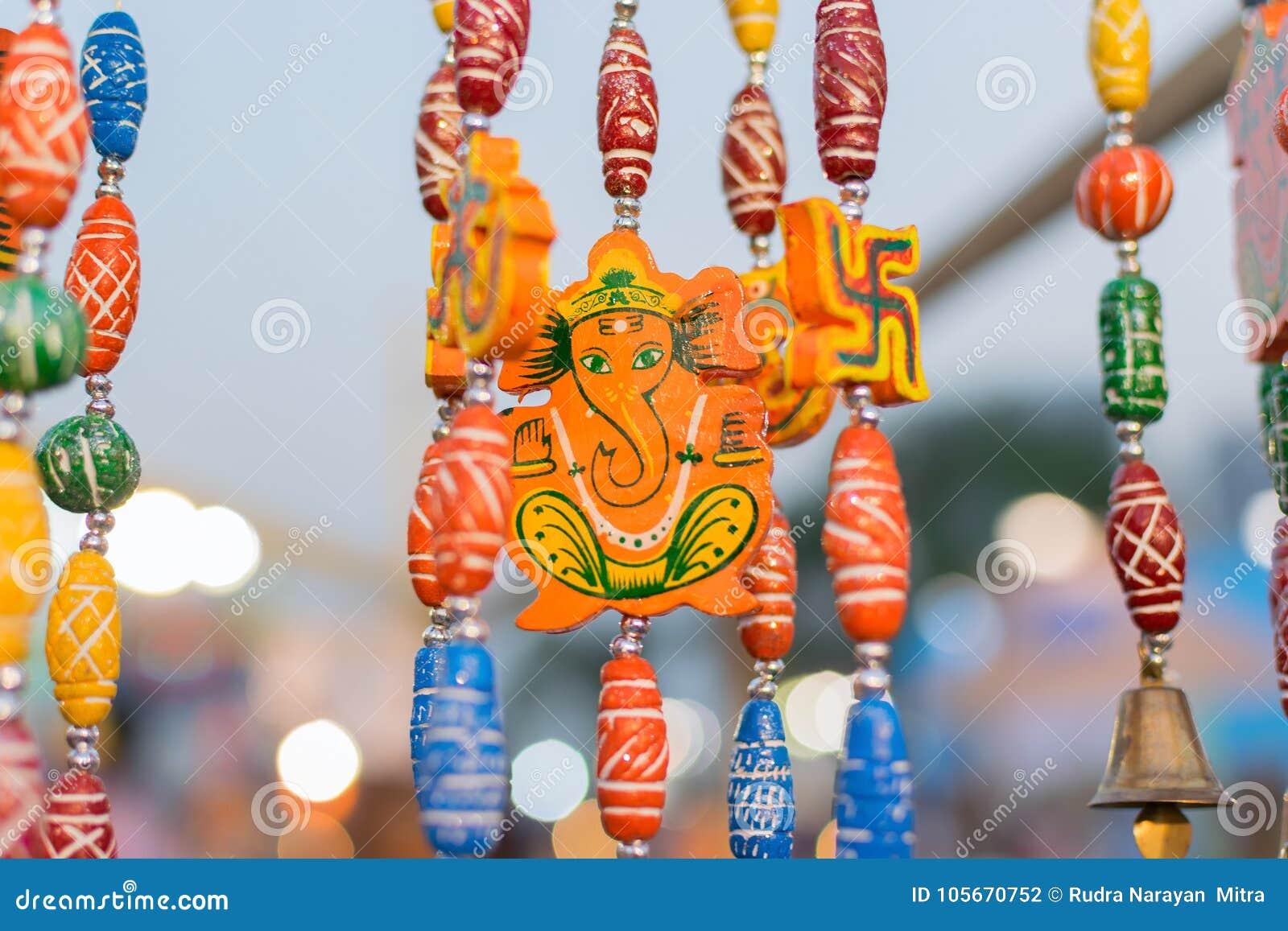 Lord Ganesha Dolls Art Work Indian Handicrafts Fair At Kolkata