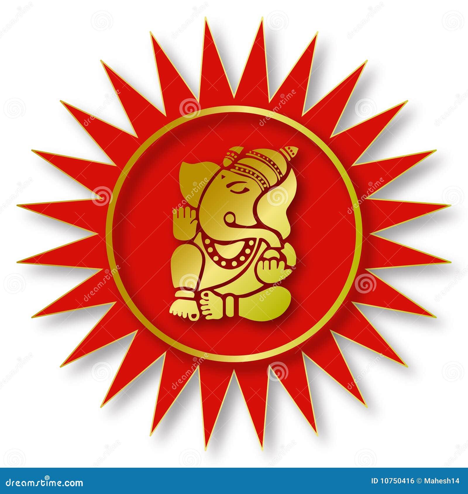 Lord ganesha sign stock illustration illustration of symbol lord ganesha sign buycottarizona