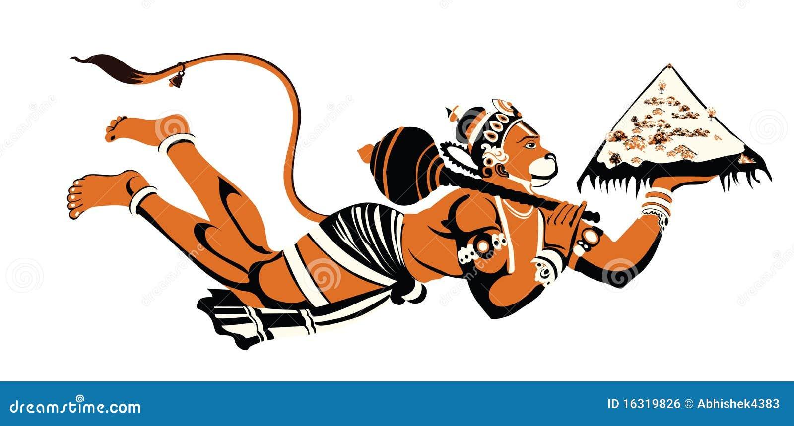 Lord Hanuman Royalty Free Stock Image - Image: 16319826