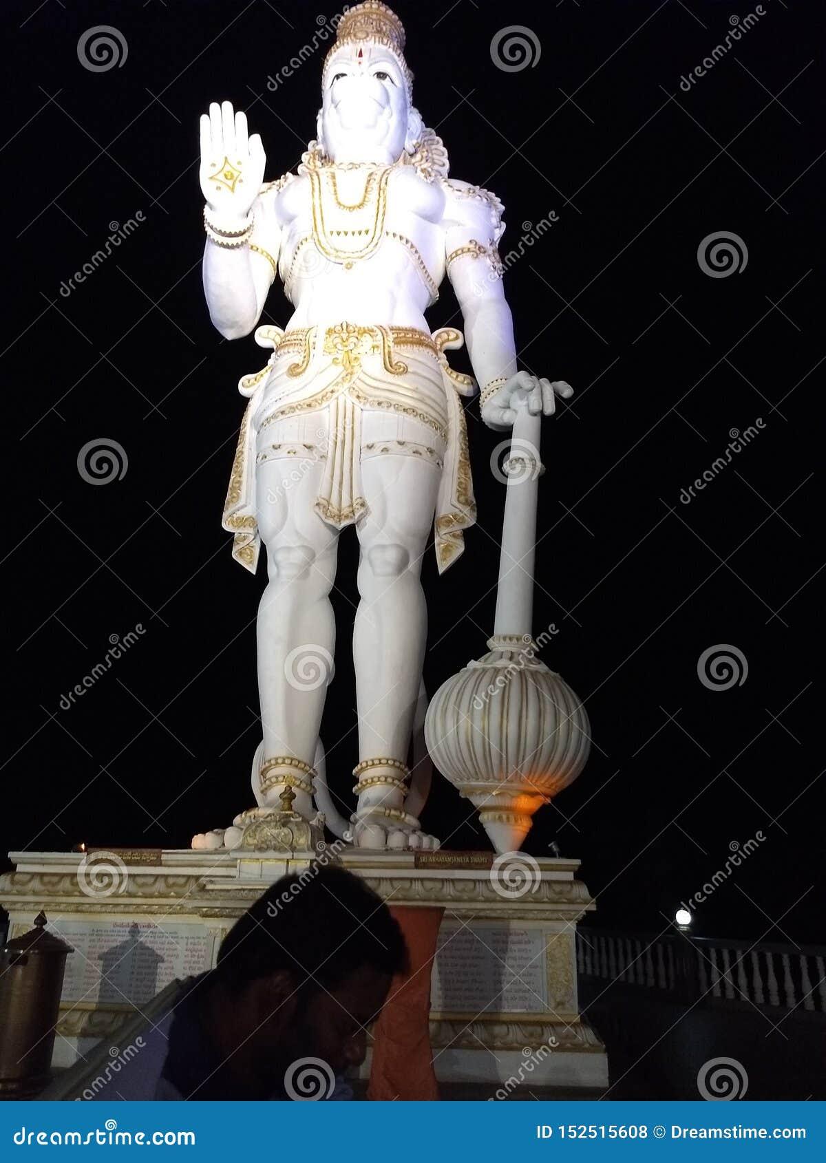 Lord Hanuman-Statue