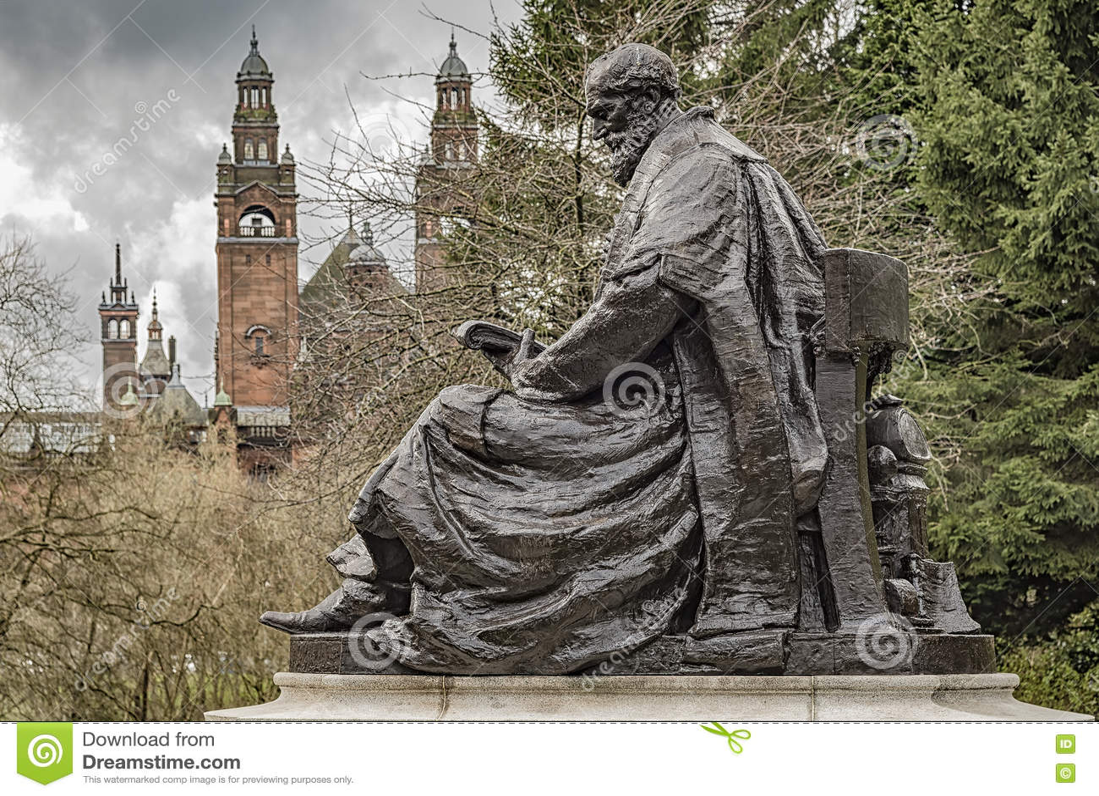 Lord Kelvin Statue