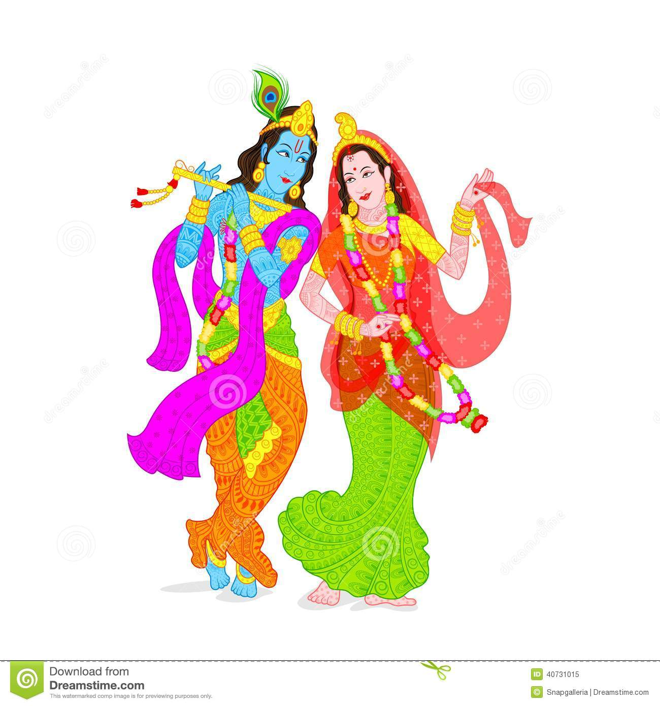 Latest Radha Krishna Wall Decor Decal Art Photo Gallery for free download