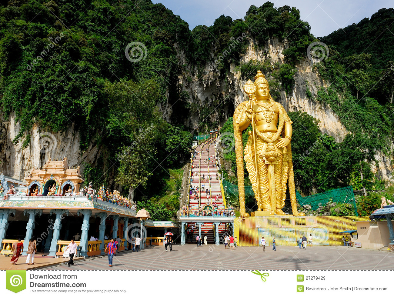 Lord Murugan Staty