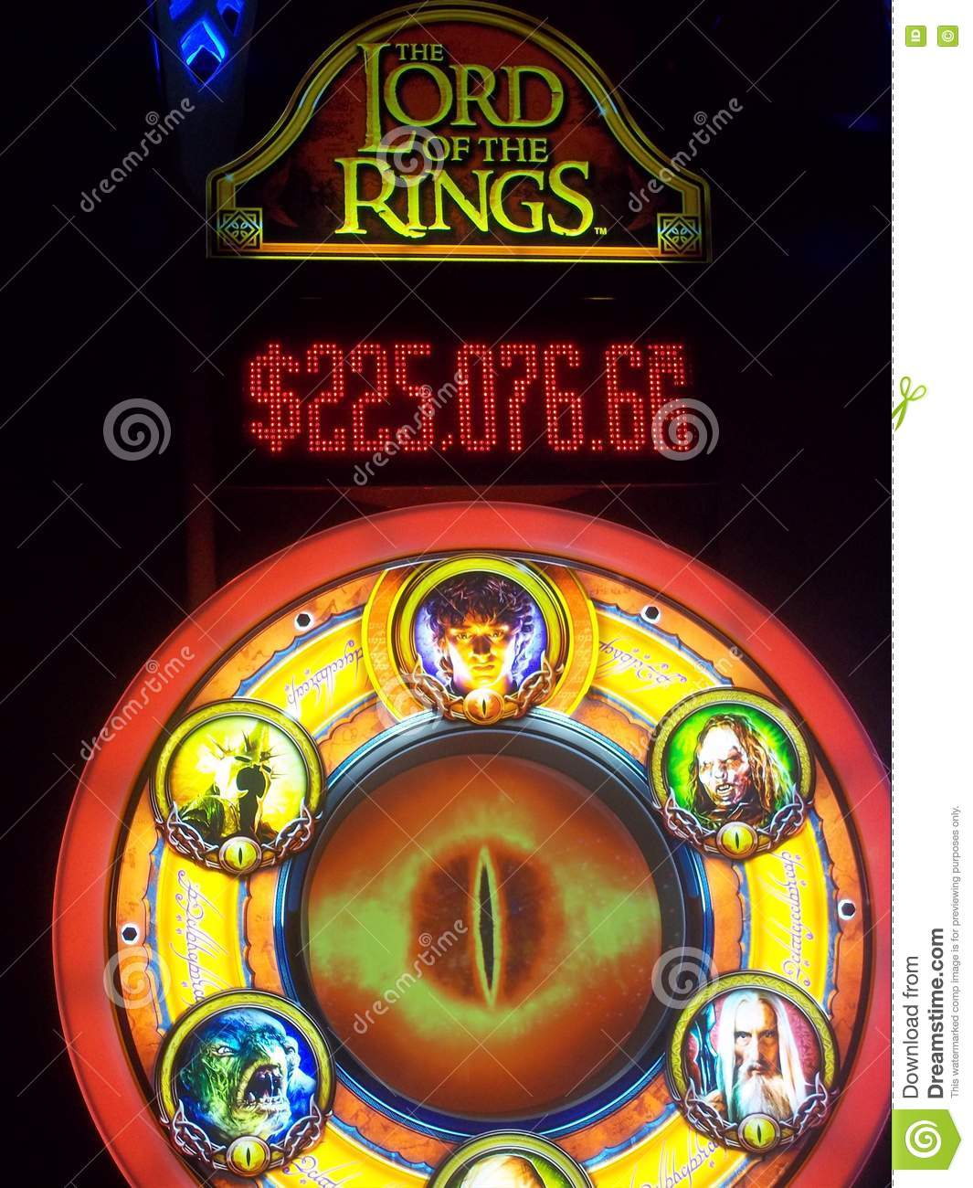 Lord Of The Rings Casino Game