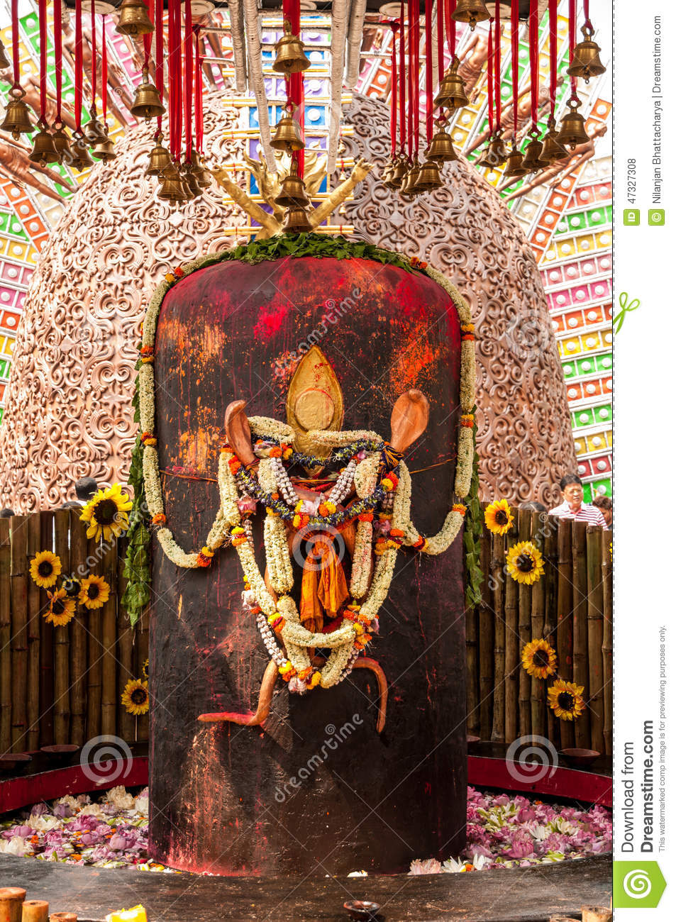 Lord Shiva Linga Stock Photo Image Of Carved Hanging 47327308