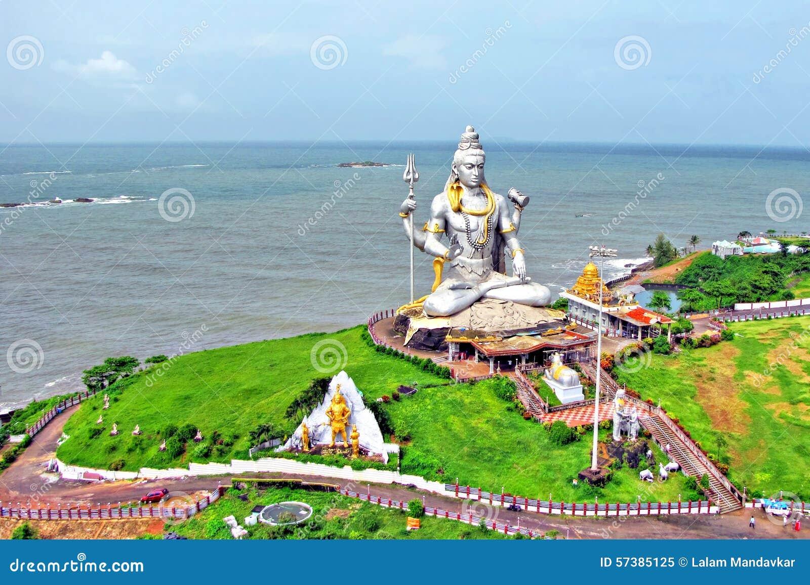 Lord Shiva Murdeshwar, India