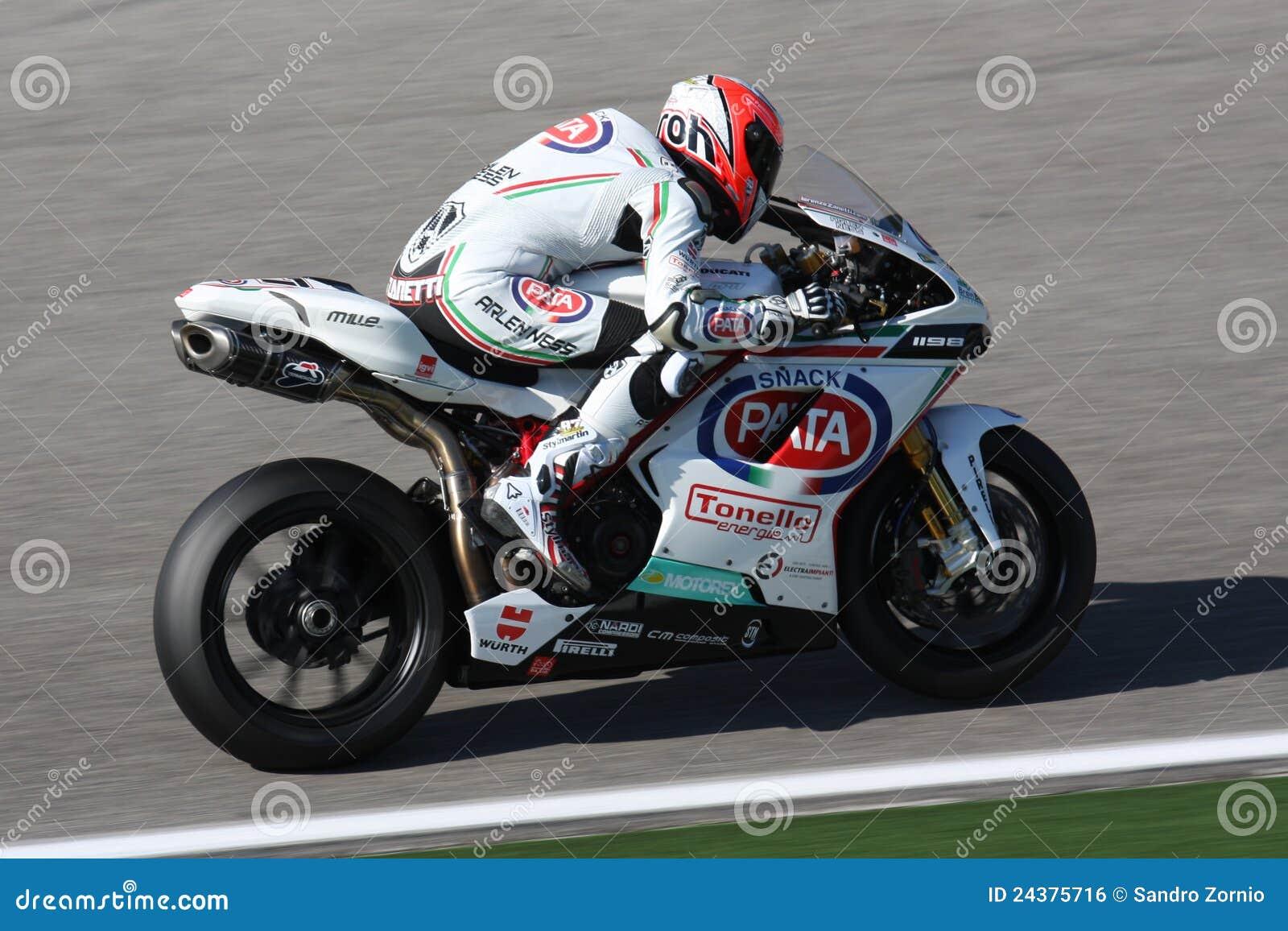Lorenzo Zanetti - Ducati 1098R - PATA Racing Team