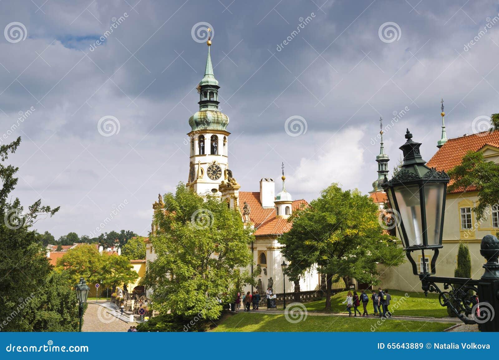 Loreta est une grande destination de pèlerinage dans Hradcany,