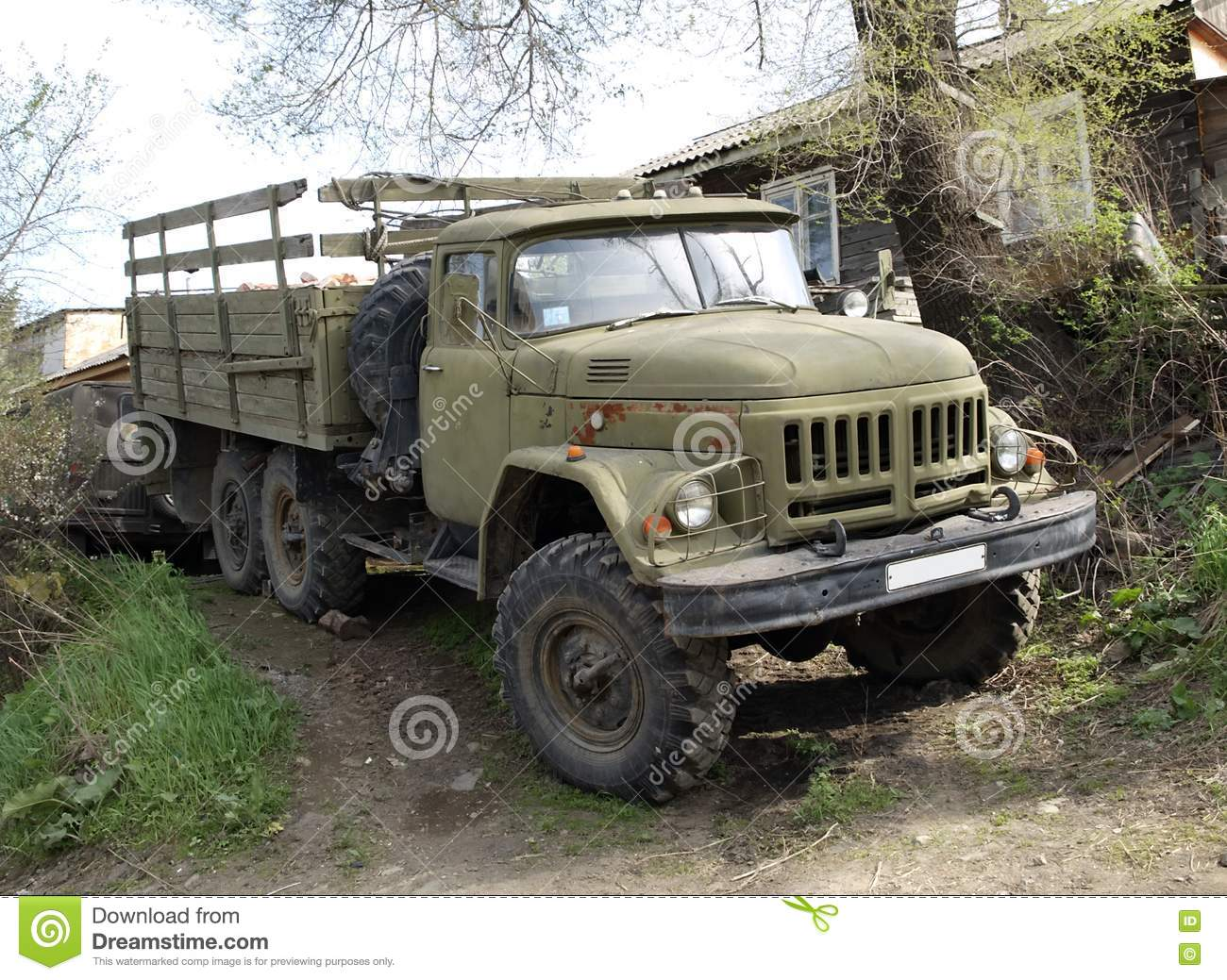 Lorry ZIL-131 Royalty Free Sto...