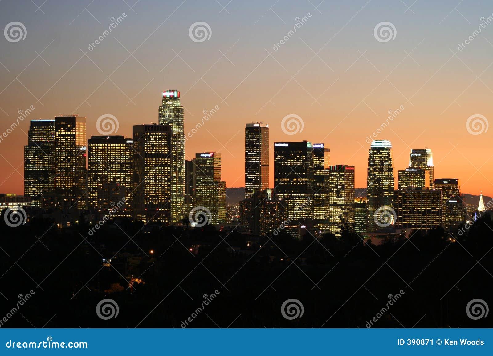 Los Ángeles céntrico en la oscuridad #5