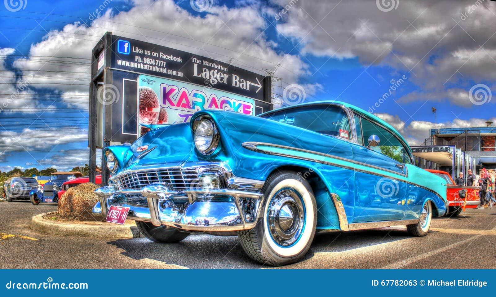 Los años 50 clásicos Chevy