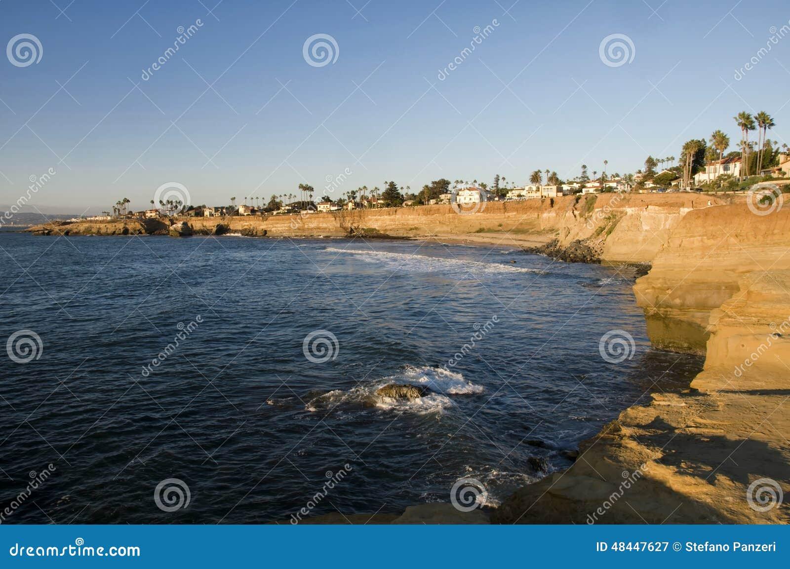 Los acantilados son San Diego