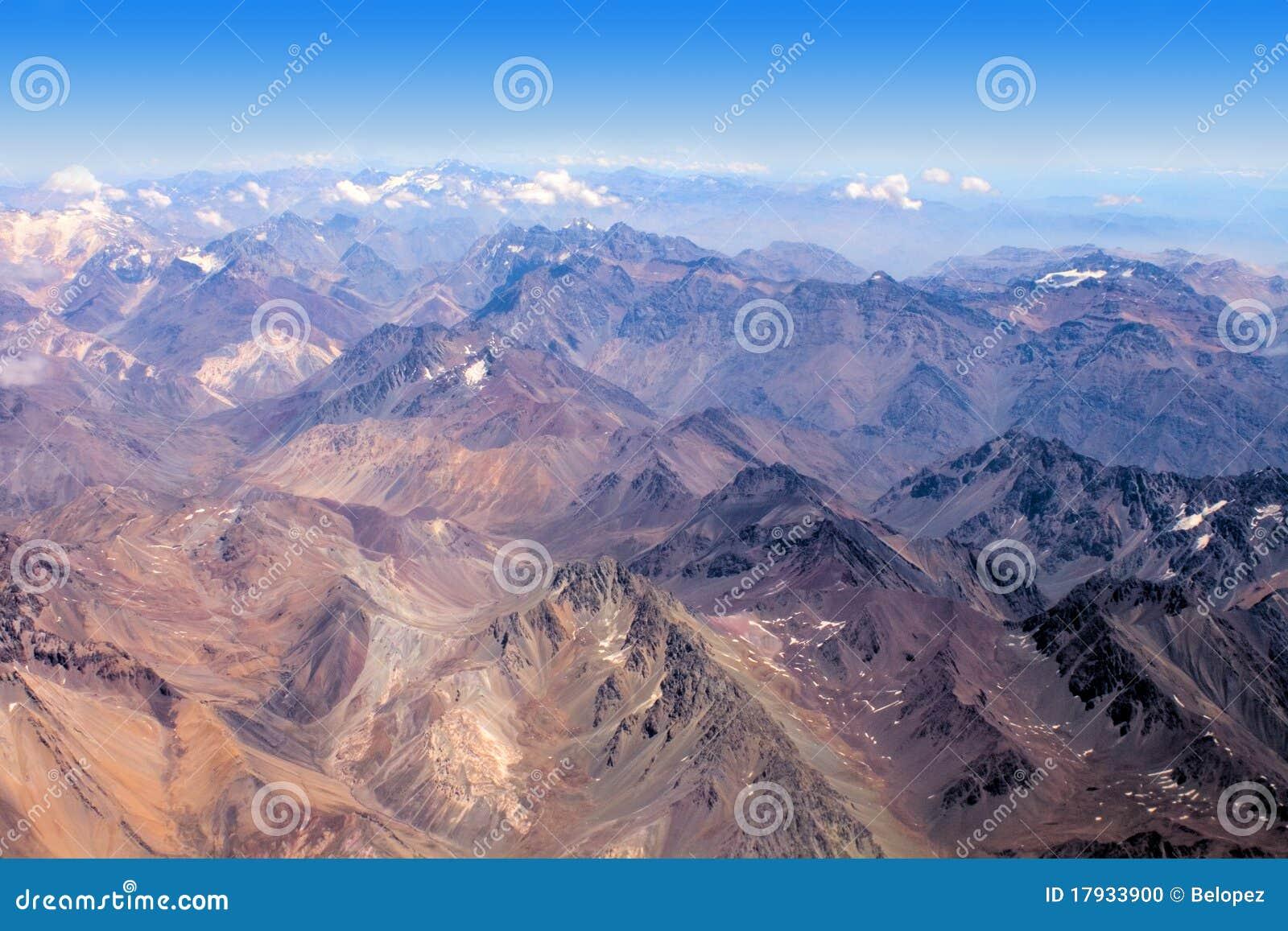 Los Andes en Chile