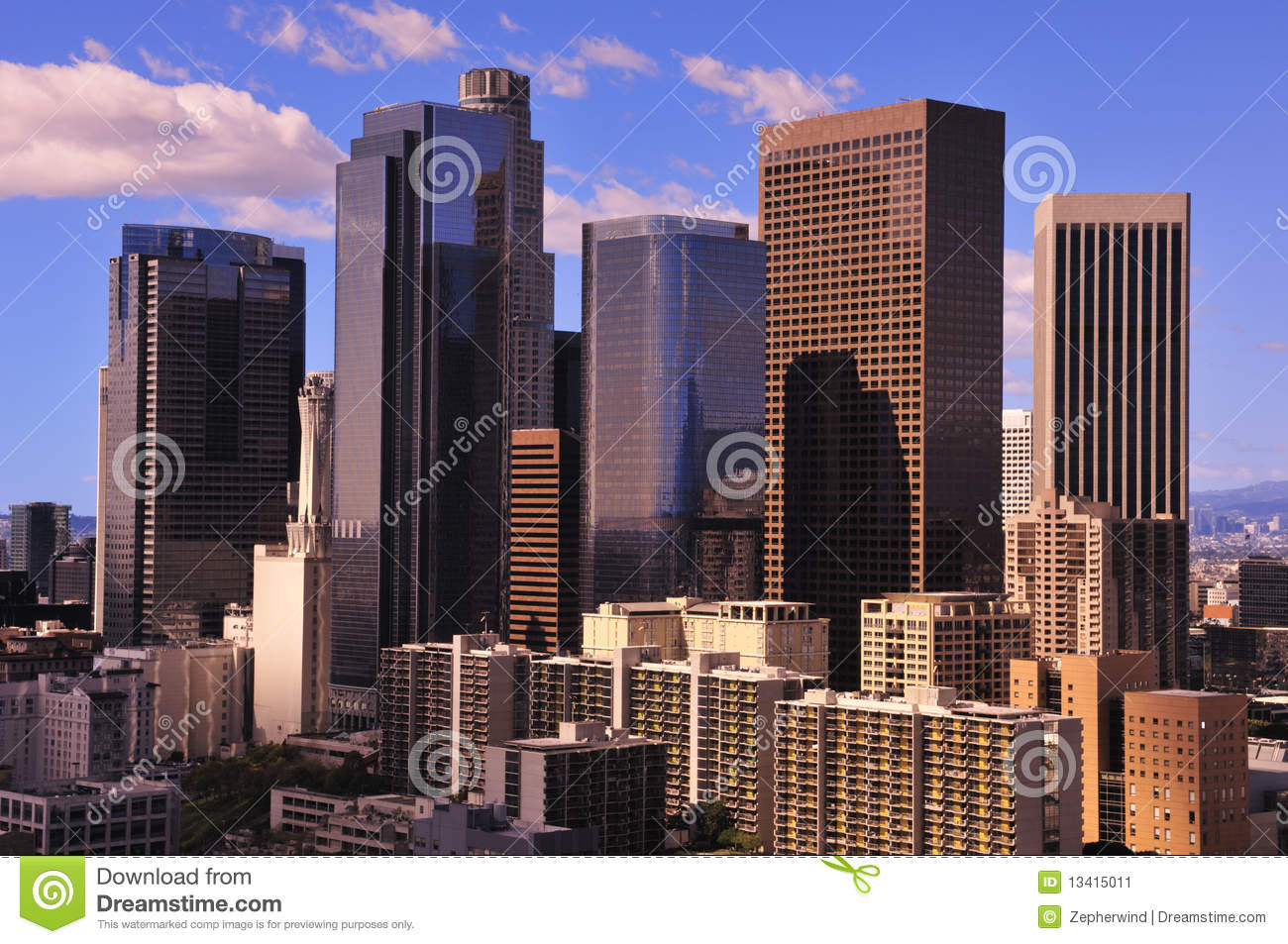 Los angeles architecture stock image image 13415011 for Los angeles architecture