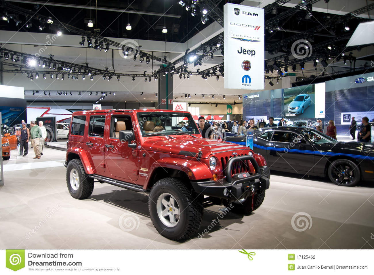 Los angeles auto show editorial photography image 17125462 for Dream motors los angeles