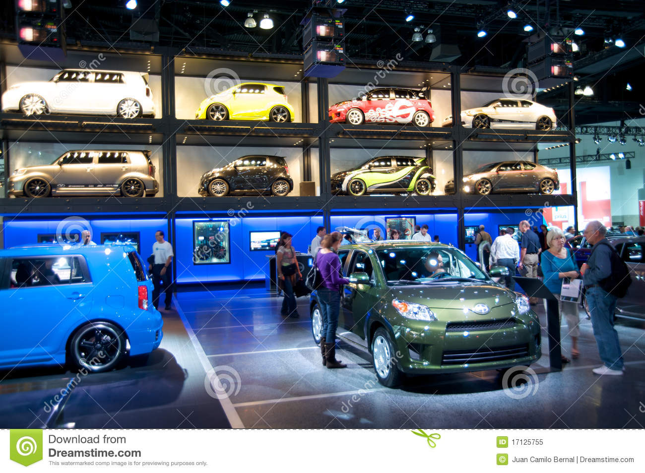 Los angeles auto show editorial image image 17125755 for Dream motors los angeles