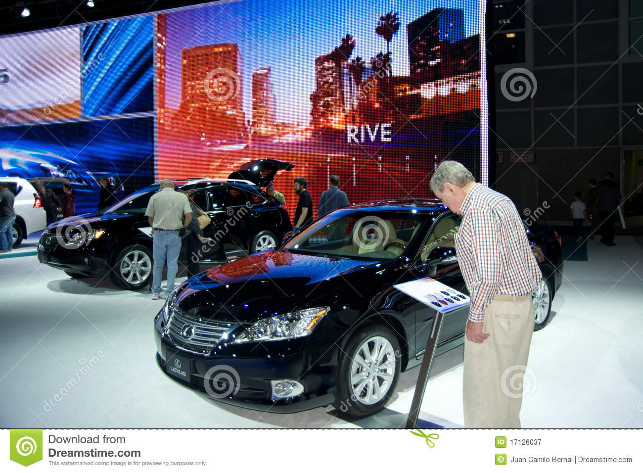 Los angeles auto show editorial photography image 17126037 for Dream motors los angeles