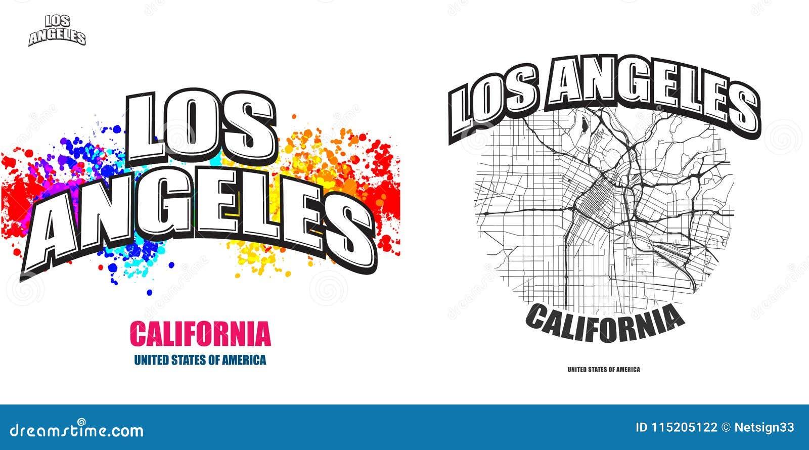 Los Angeles California Two Logo Artworks Stock Vector Illustration Of Shirt Illustration 115205122,Clash Of Clans Builder Hall 4 Base Design
