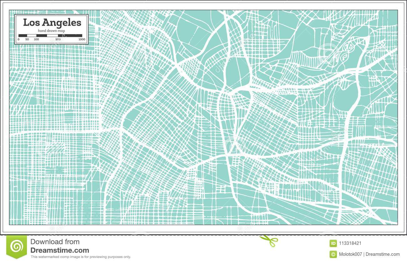 City Map Of Los Angeles on