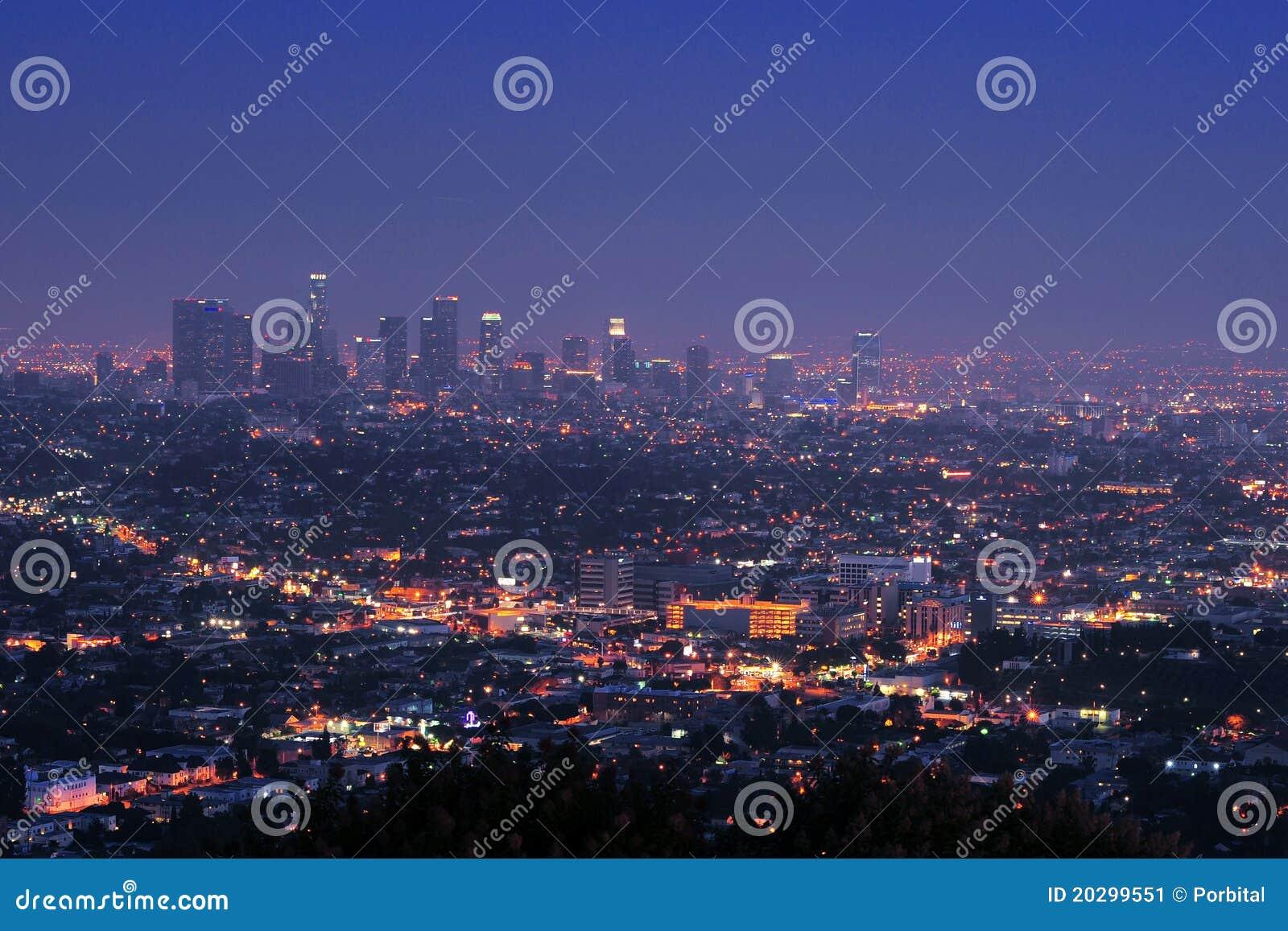 Los Angeles da baixa na noite