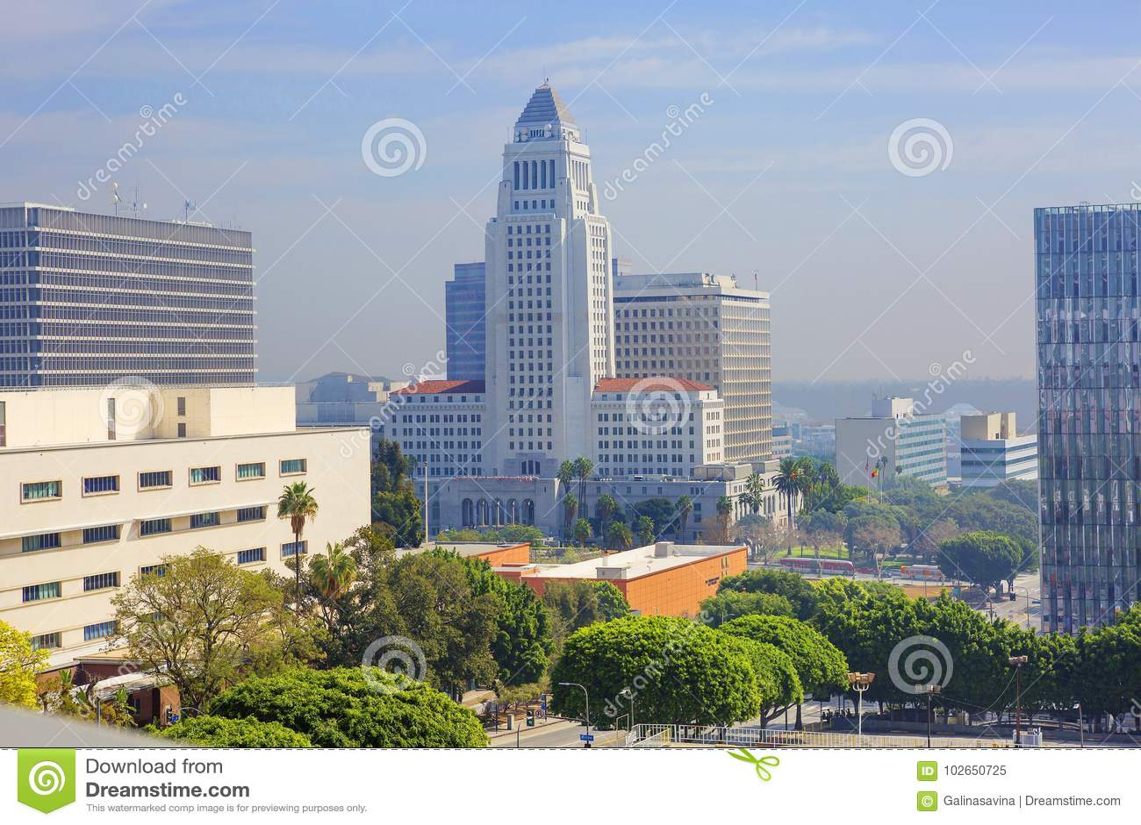 Los Angeles, Etats-Unis, 2016 : 2h28, ville hôtel de Los Angeles
