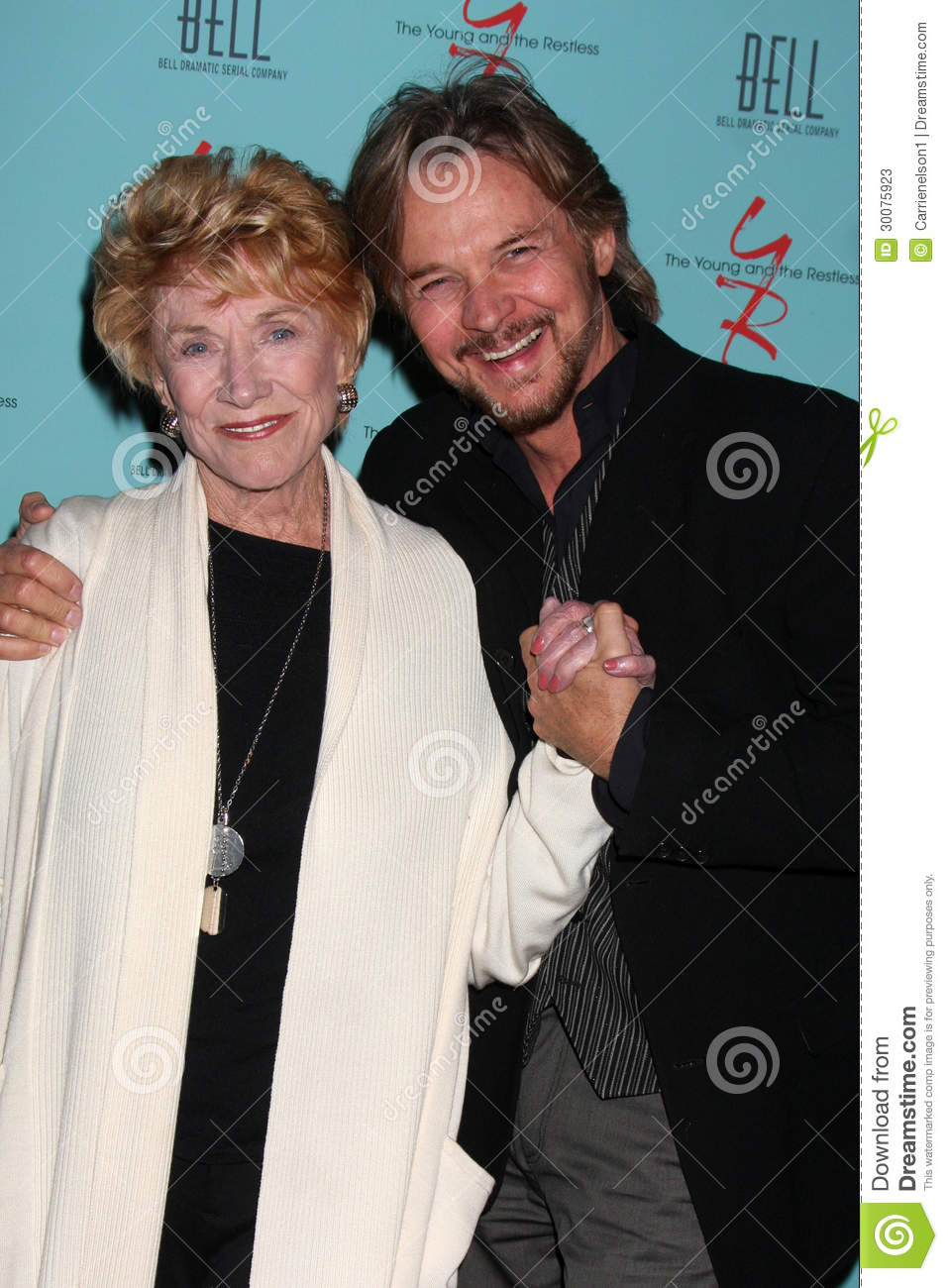 Stephen Nichols Jeanne Cooper Editorial Stock Photo Image Of Hosted Stephen 30075923
