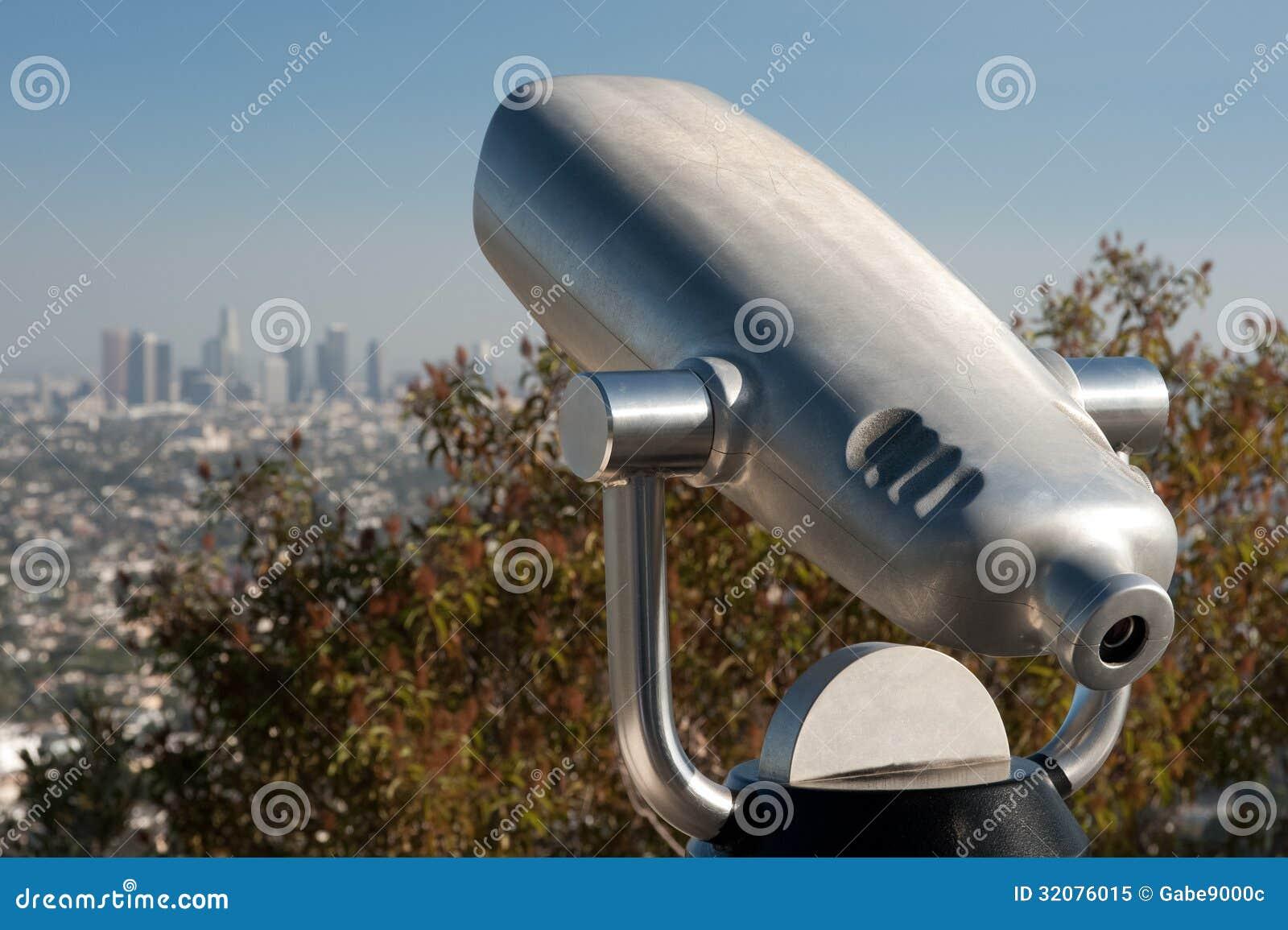 Los Angeles moneta działający teleskop
