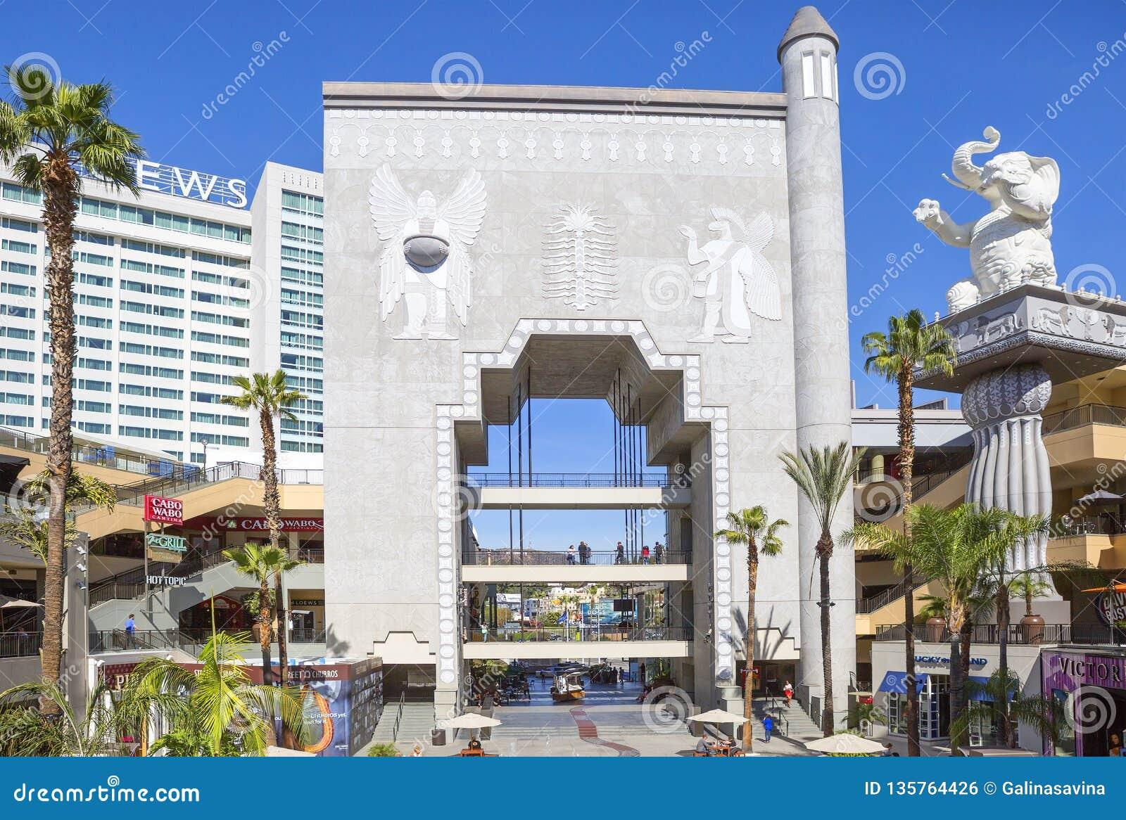 Los Angeles, patio przy Dolby teatrem