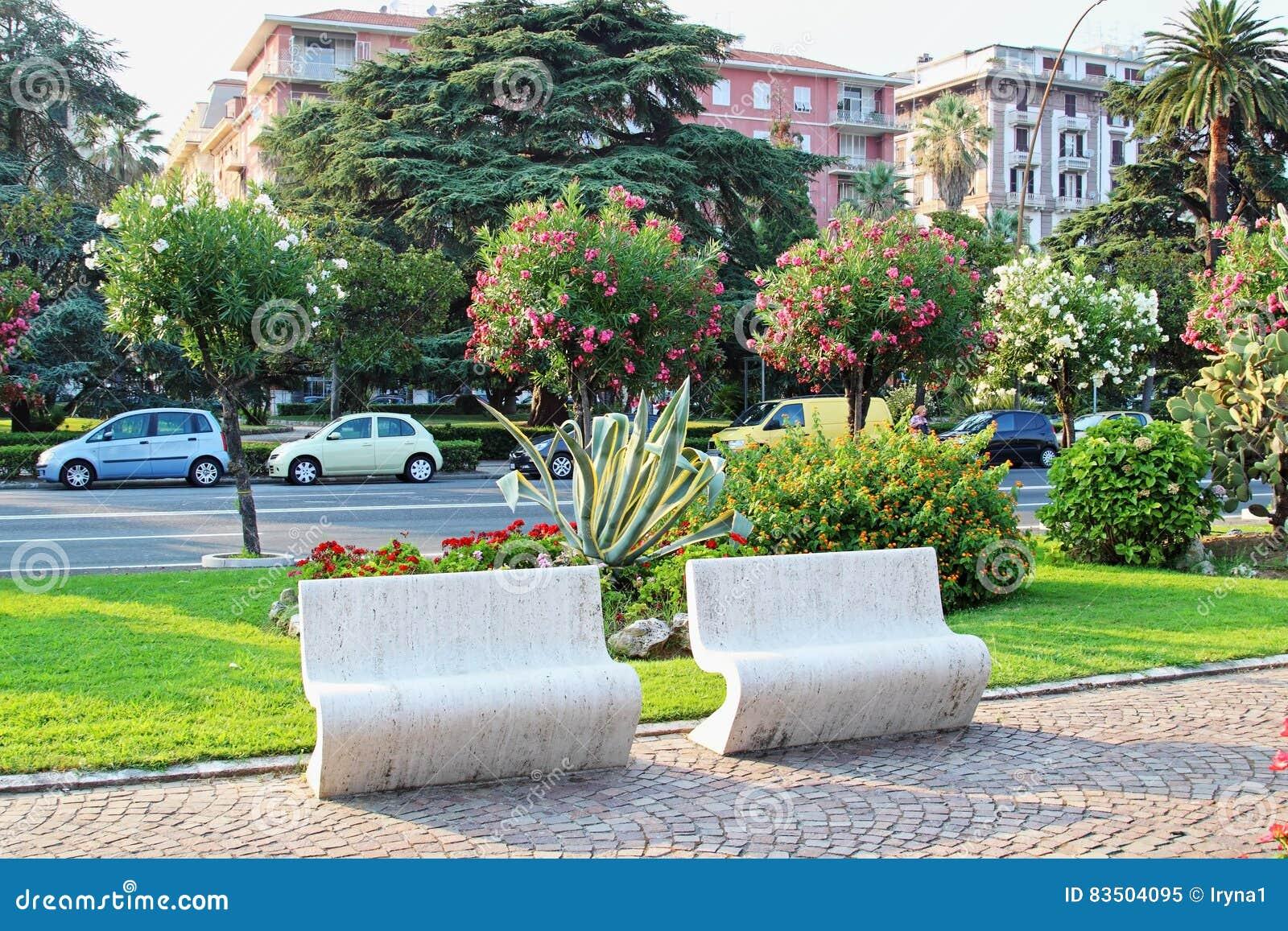Los Angeles Spezia w lecie, Liguria region, Włochy