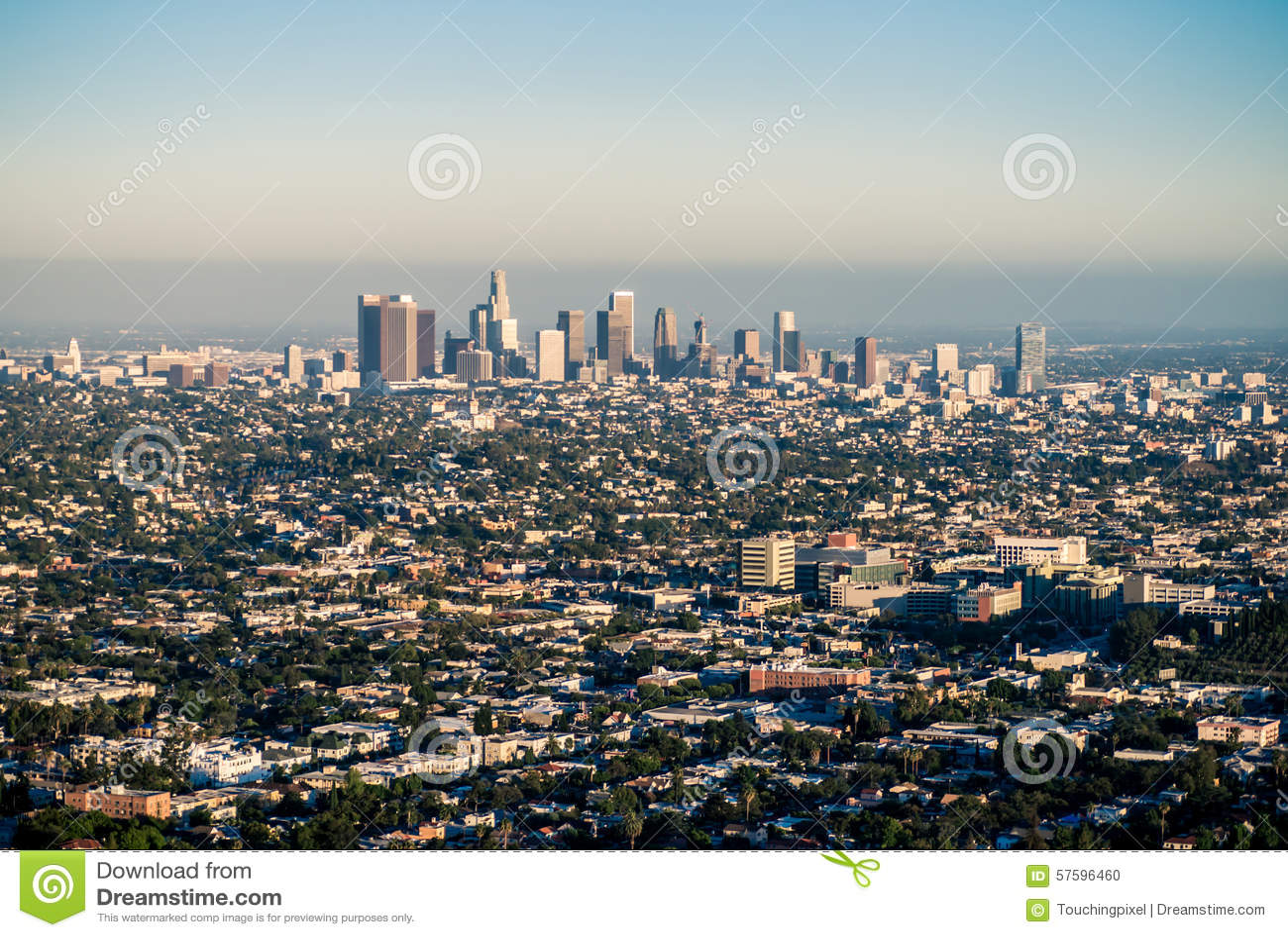 Los Angeles unter Smog
