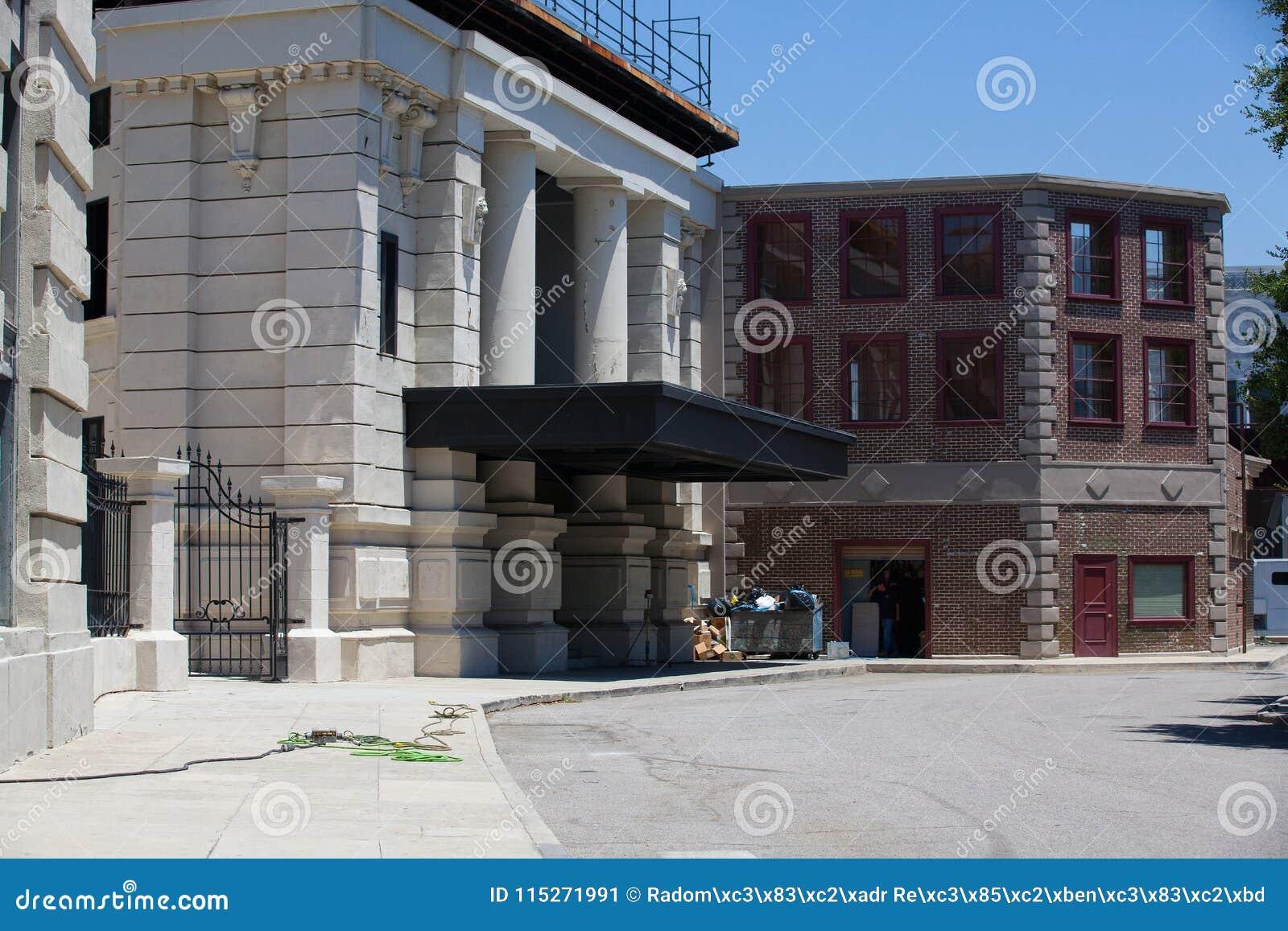 Warner Brothers Studios In Burbank,Los Angeles, USA
