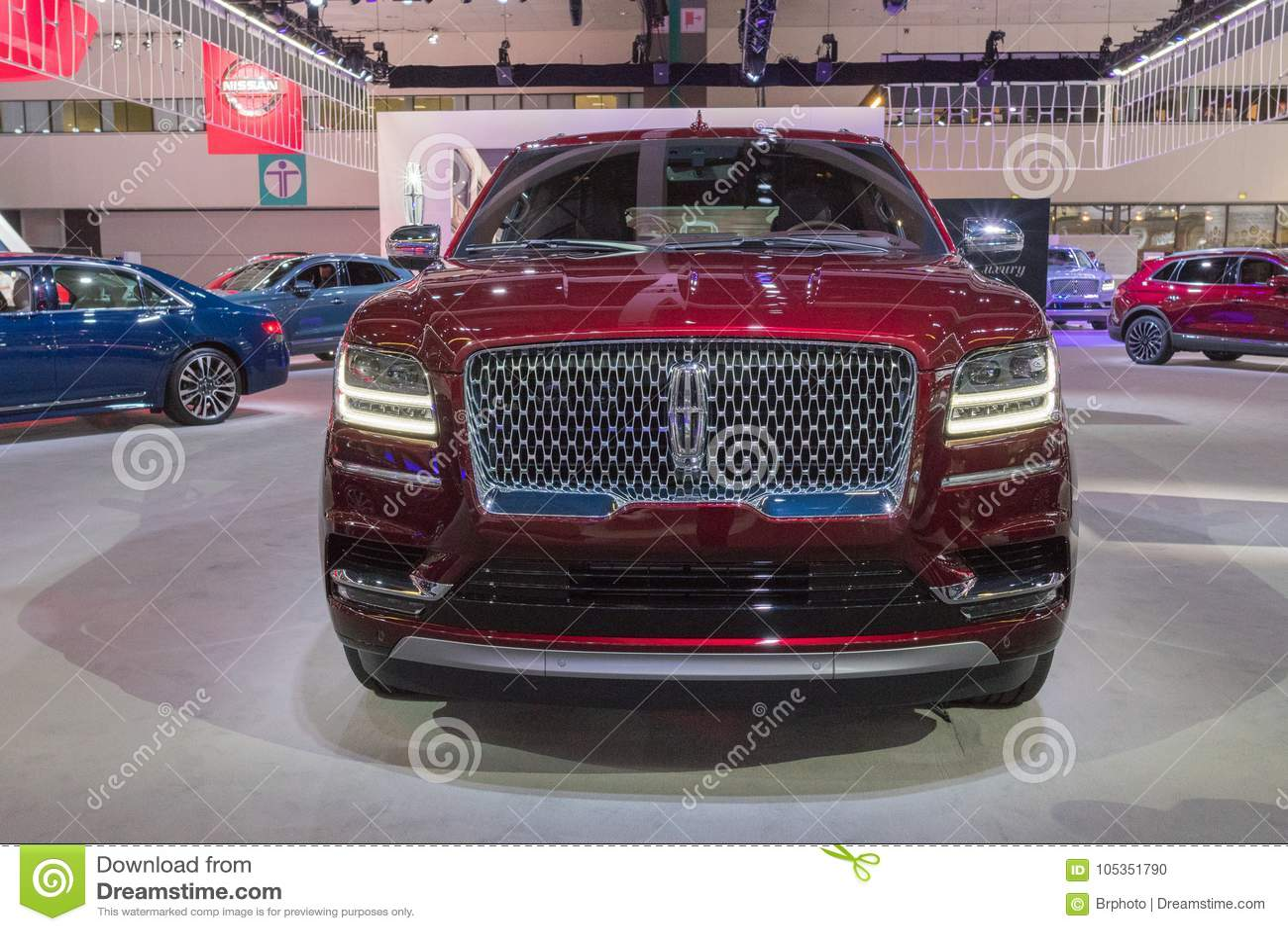 Honda Civic Hatchback On Display During LA Auto Show Editorial Image - Honda center car show
