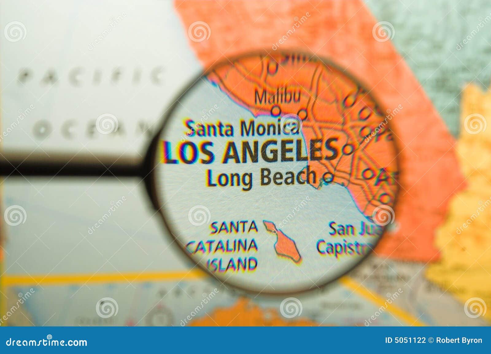 Los Angeles vergrößerte