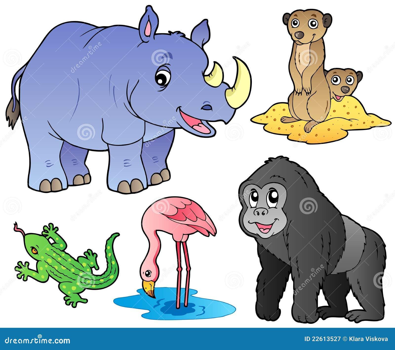 Los Animales Del Parqu...