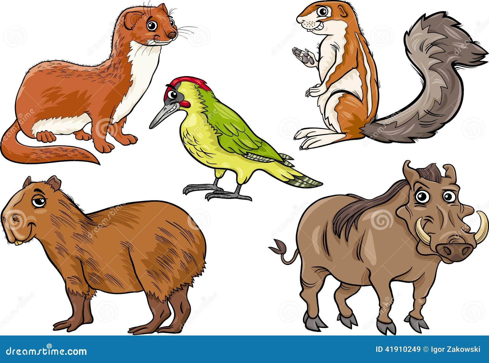 Los animales salvajes fijaron el ejemplo de la historieta